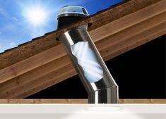 Solar tubes for areas that don't get natural light - save on lighting bills