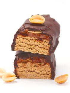 Healthy Beefcake DIY Protein Bars (refined sugar free, gluten free, vegan)