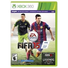 FIFA 15 (Xbox 360) - on sale and free shipping...score!! I mean, goooooooooollllll!!!! Golaso!! Lol!