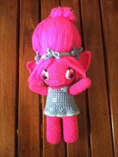 Troll doll - front
