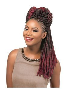 """Sensationnel African Collection - Soft Faux Locs 14"""" - Light - Soft - Tangle Free - Easy Brushing - Easy Separating                                                                                                                                                                                 More"""