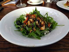 Chicken and goats cheese salad, Gusto Leeds