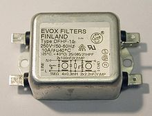 Line filter - Wikipedia, the free encyclopedia
