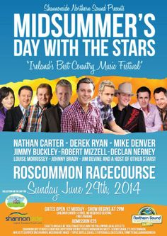 Midsummer's Day With The Stars Roscommon Racecourse Sunday 29 June 2014