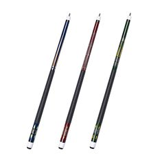 """58/"""" Pool cue 2 Piece Billiard Stick Maple Shaft 13mm Leather Tip with Free Glove"""