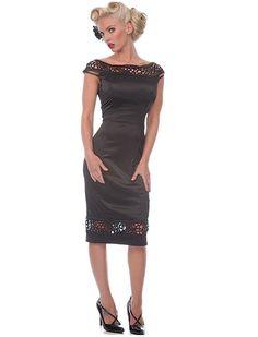 Blackpencil Dress - Rockabilly Clothing - Online Shop für Rockabillies und Rockabellas