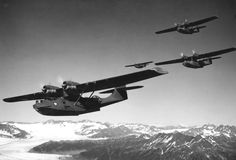 PBY Catalina. 0.5 calibre machine guns were fitted in the waist blisters and could deliver a shattering blow to any U Boat that had not managed to dive fast enough. But, if it did dive, the depth charges would usually take it out.