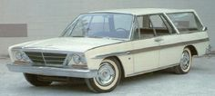Image Gallery: Concept Cars....1961 Studebaker Concept car that tried to keep Studebaker alive
