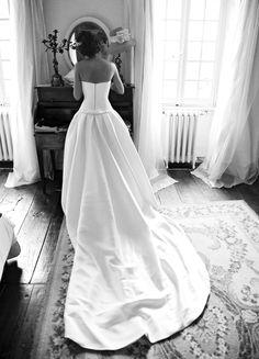 Robe Luxe Rosa Clara Berenice T36 d'occasion avec boléro et jupon