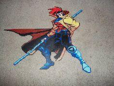 X-Men Gambit Perler Bead Wall Art
