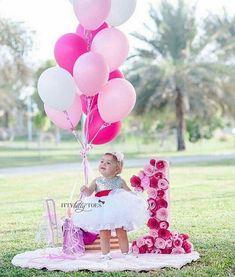 Girl first birthday photoshoot