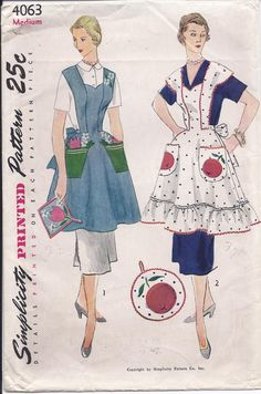 Simplicity #4063 - Dated: 1952