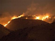 Indian Gulch Fire