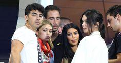 Kendall Jenner,Gigi Hadid, Joe Jonas and Kim Kardashian