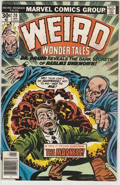 Vintage Comic - Weird Wonder Tales #020 Pencils: Jack Kirby Inks: Joe Sinnott Marvel (Jan1977)