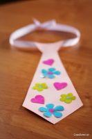 Laurka - krawat na Dzień Taty