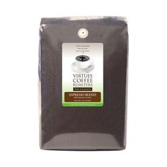 Virtues Coffee Roasters Espresso Roast Ground Coffee 5lb bag