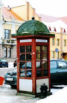 Telefonzelle Kaunas Lithuania