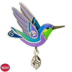 Beauty of Birds Hummingbird Mini Ornament, $7.95