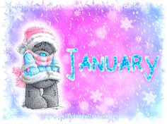 Tatty Teddy ~ ★* Hello January *★