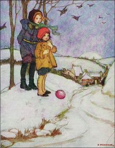F. Harrison (Artist), The Story Hour Book , Blackie and Son Circa 1922