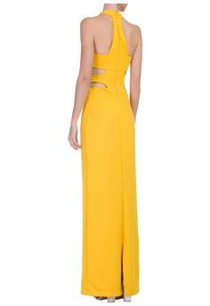 IORANE                                             - Vestido longo halter - amarelo - OQVestir
