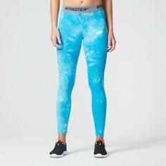 Myprotein Women's Tie Dye Core Leggings - Blue