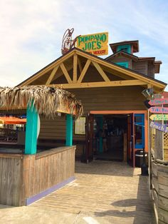 Pompano Joe's,  Destin, FL - dine on the beach!
