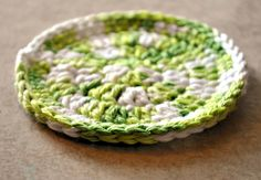 Easy Coaster pattern by Amy Dutsch
