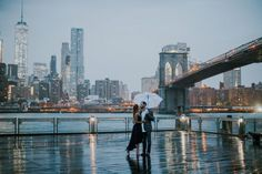 Brooklyn Bridge Park Engagement Session , NYC Photos