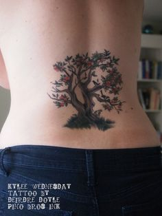 1000 images about tattoo ideas on pinterest tree tattoo for Apple tree tattoo designs
