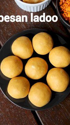 Besan Laddu Recipe, Rasgulla Recipe, Kulfi Recipe, Jamun Recipe, Chaat Recipe, Laddoo Recipe, Easy Ladoo Recipe, Indian Dessert Recipes, Sweets Recipes