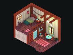 Resultado de imagem para voxel room