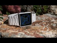 Kisai X Acetate Cool LED Watch Design with Time, Date, Alarm From Tokyoflash Japan