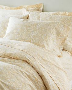 Garnet Hill Mums Hemstitched Supima® Percale Bedding, $157.00 for two standard pillow cases, 1 fitted sheet and 1 flat sheet