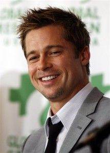 Brad Pitt..great to look at and a funny, funny guy. (He also went to Mizzou.)