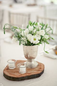 #centerpiece  Photography: Tasha Seccombe - tashaseccombe.com Floral + Event Design + Planning: 4 Every Event - 4everyevent.co.za/  Read More: http://www.stylemepretty.com/2013/05/01/south-africia-wedding-from-tasha-seccombe/