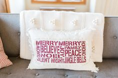 Gorgeous Southwest Washington Home | Lifestyle Family Photo Session | Pacific Northwest Wedding and Portrait Photography | Cozy in Home Lifestyle Session | Interior Design Holiday Pillow.jpg