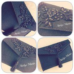 El çantam 😊 #atölyemarin #elemeğigöznuru #elişi #elişim #craft #keçe #felt #keçeçanta #feltbag #clutch #clutchbag #design #tasarım #hediye #gift #hobi