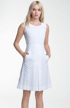 Diane von Furstenberg 'Capreena' Eyelet Dress | #Nordstrom