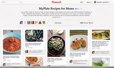 Looking for easy healthy recipes? Check out MyPlate for Moms Pinterest Board © Jeanette's Healthy Living