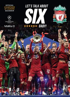 Kindle: Liverpool FC: Champions of Europe 2019 - Official Souvenir Magazine : Free eBook Liverpool FC: Champions of Europe 2019 - Official Souvenir Magazine Author Liverpool Football Club Ynwa Liverpool, Liverpool Fans, Liverpool Football Club, Liverpool Tattoo, Liverpool Players, Liverpool History, Liverpool Fc Wallpaper, Liverpool Wallpapers, Lfc Wallpaper