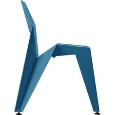 NOVAGUE teal blue dining chair inside and out