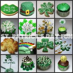 I posted this last year and thought there were so many different ideas, I'd post if for anyone who may have missed it. I linked to the photos below and added some other St. Patrick's ideas also. 1Shamrock cookies 2Leprechaun Hat Cupcake 3Shamrock cookies 6Homemade gummy candy 7Money Tree 8No Pinching Printable for Cupcake 9St Patrick's Day Pretzel 10End of the Rainbow Cake 11Shamrock Cookies 12Green Pancakes and eggs 13Green Cake Pop 14Mint Kisses 16Gold Coin on cupcake Pot of…