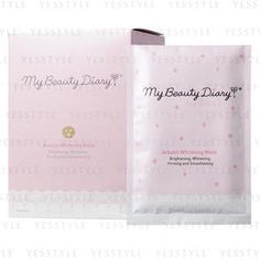 Buy 'My Beauty Diary – Arbutin Whitening Mask (English Version)' with Free International Shipping at YesStyle.com. Browse and shop for thousands of Asian fashion items from Taiwan and more!