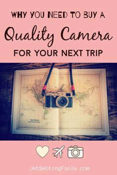 Buying a real, quality camera for travel is a big investment. While cameras today are more affordable than ever, they still cost a good amount of money. Travelers – especially budget travelers – may be inclined to forego purchasing a real camera for a trip, opting instead to use their phone camera. We think that is a huge mistake. Travel Guides, Travel Tips, Travel Articles, Frugal Tips, Packing Tips, Travel Couple, Plan Your Trip, Taking Pictures, Budget Travel