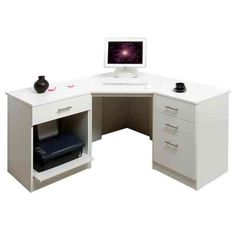 65 best home office computer desks images in 2019 10420 | b74f222f37468135aa170acecced57a3 desks uk white corner desk