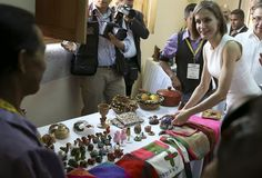 The second and final day in Honduras of Queen Letizia in her journey of cooperation. 5 May 2015