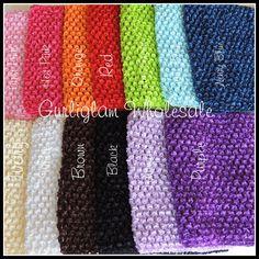 086b6d01ac1 Crochet Tutu Top 6 inch tube top by GurliglamWholesale on Etsy Tulle Skirt  Dress