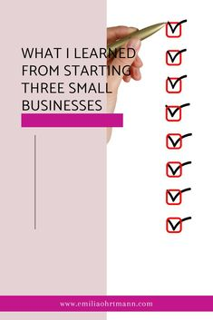 Starting your own business can be daunting, read my blog post on what I learned from starting 3 small businesses #startup #financialplan #soloentrepreneur #startupproblems Blog Design, Web Design, Inspirational Quotes For Entrepreneurs, Business Card Design Inspiration, Blog Layout, Branding, Starting Your Own Business, Blog Tips, Small Businesses